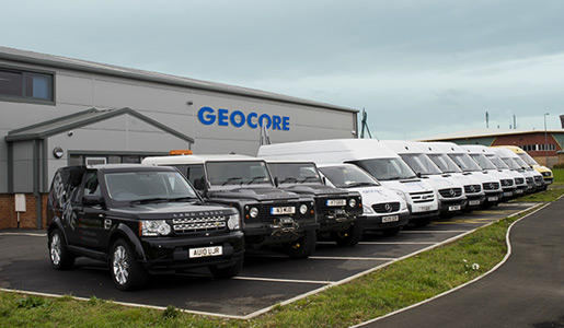 Geocore specialist drilling services UK