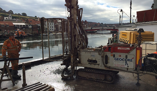 Geocore rotary drilling services